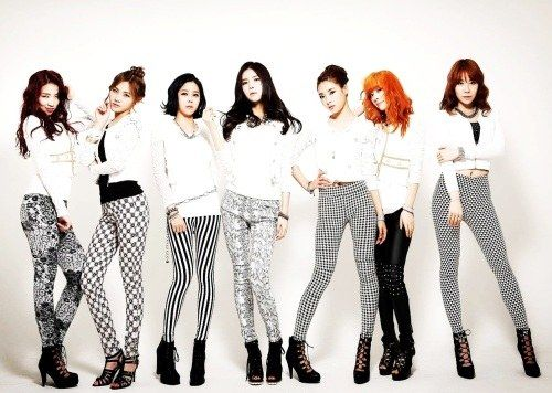 Kpop Girl Groups with 7 members